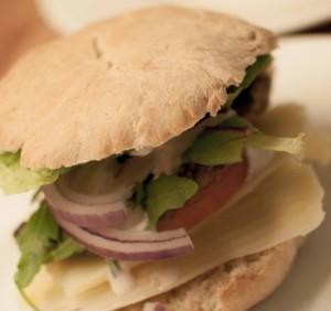 hjemmelaget hamburgerbrød