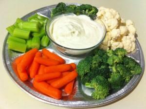 Dipp til grønnsaker