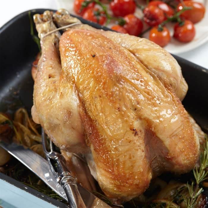 Steke hel kylling i ovn