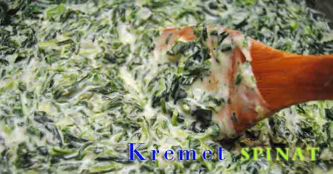 kremet spinat-øverst